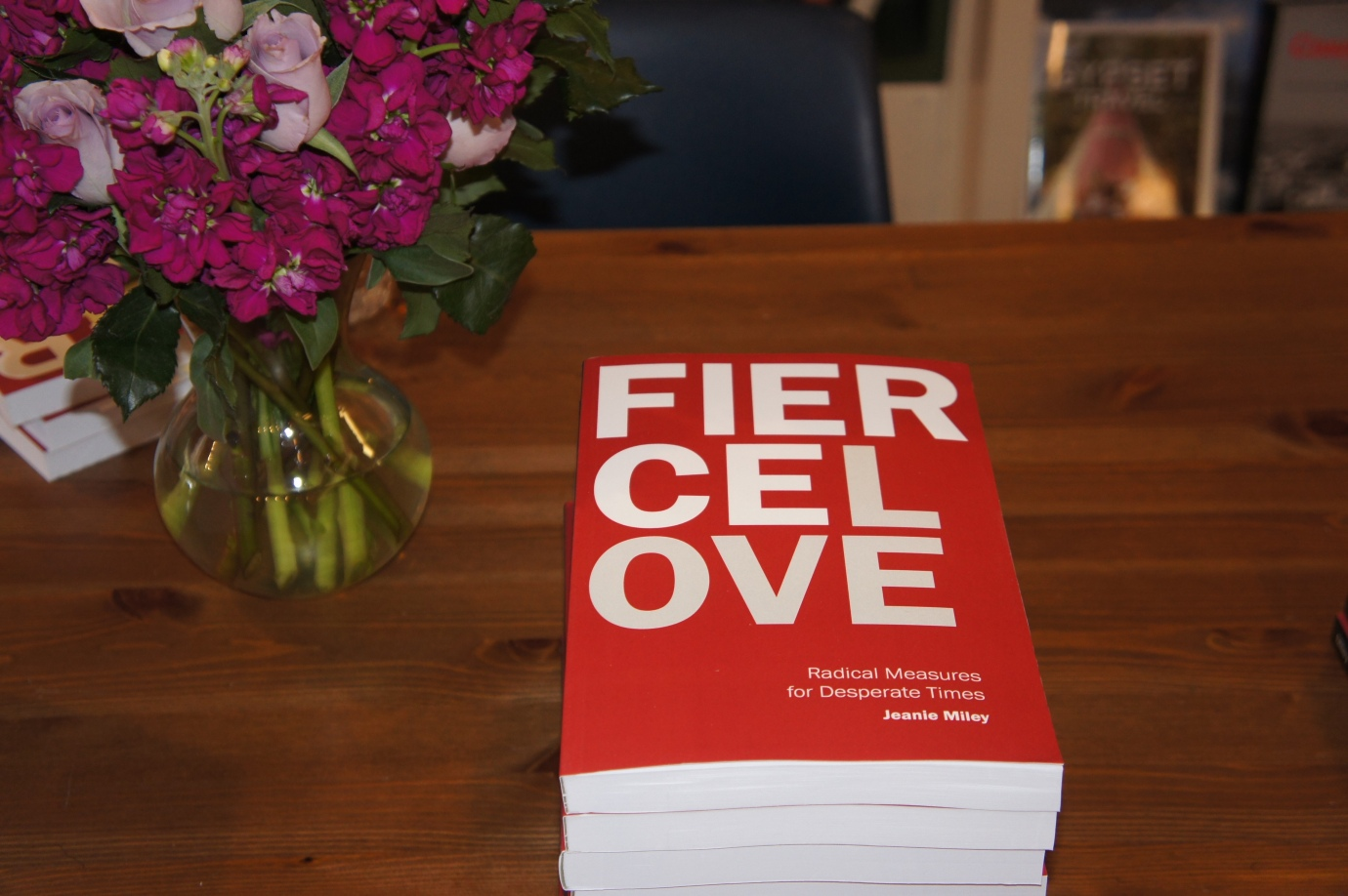 New book Fierce Love